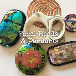 Focal Beads & Pendants