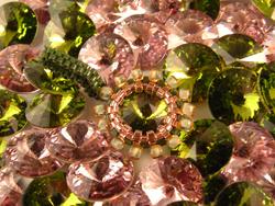 Swarovski Crystal Rivolis